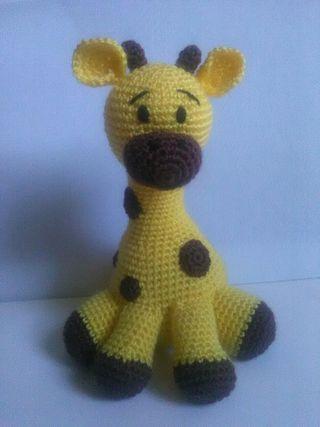 jirafa Amigurumi, muñeco crochet