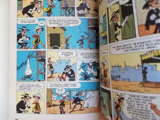Libro clásicos del cómic Lucky Luke