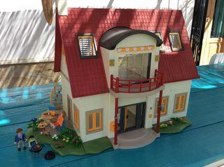 Playmobil casa moderna de segunda mano por 120 en rinc n for Casa moderna 4279