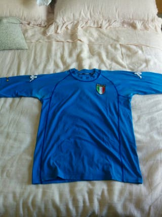 Camiseta oficial Selección Italia Mundial 2002