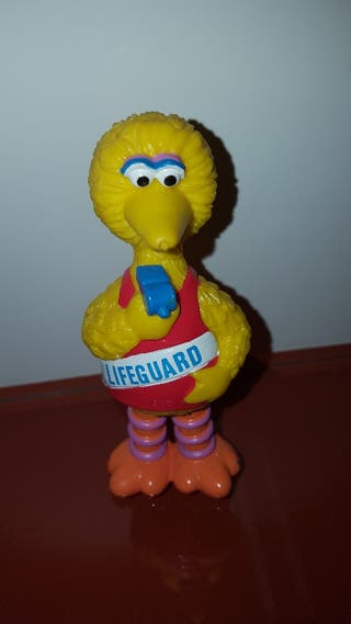 figura pvc goma gallina caponata muppets