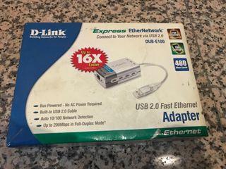 Adaptador usb-ethernet D-Link