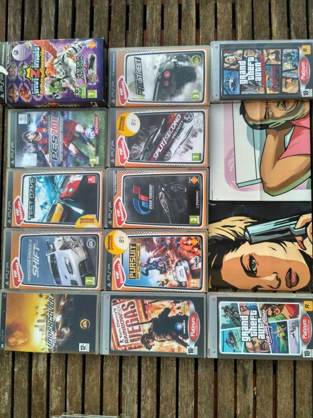 PSP+juegos