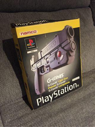 Pistola ps1 namco g-con45