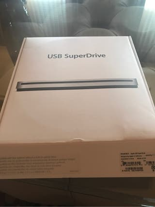 Usb super drive apple