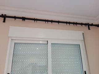 barras para cortina de forja