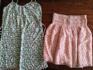 Set de falda y vestido