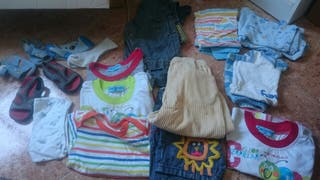 ropa de niño talla 18 meses de verano