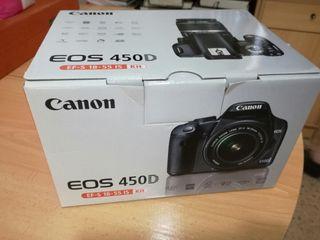 Cámara réflex Canon EOS 450D
