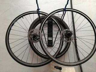 ruedas hibridas bicicleta