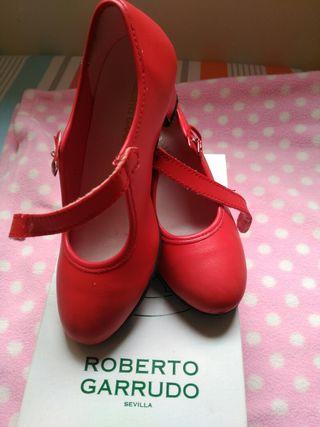 Zapatos de gitana niña