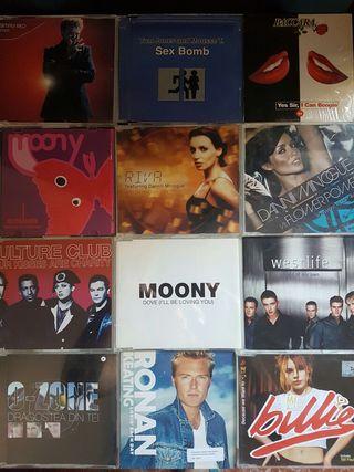 CD singles música pop, dance, eurodance
