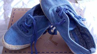 Sneakers Tejanas Blue Summer by Women's Secret®