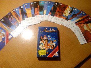 juego de cartas Aladín años 90