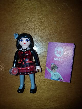 playmobil serie 10 vampiresa chica