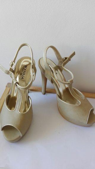 Zapatos de tacon alto, T.39, seminuevos