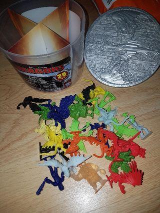 cubo Cómo entrenar a tu dragón con 25 figuras