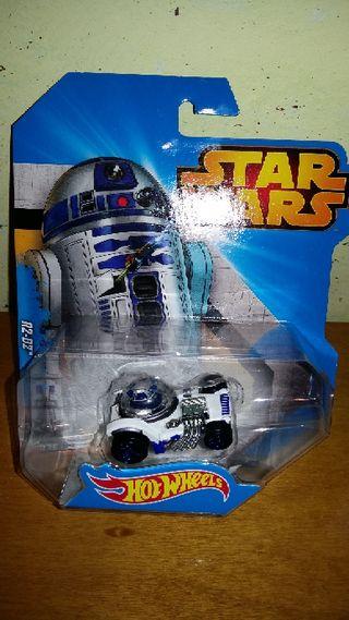 coche Hot Wheels Star Wars R2D2 nuevo Disney