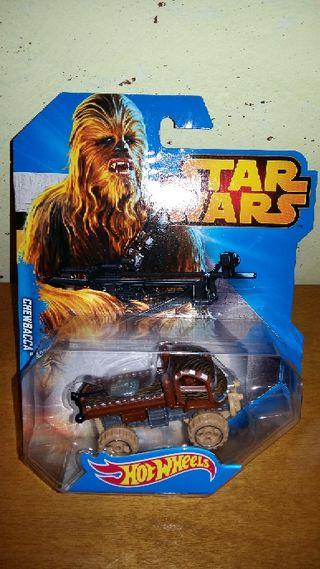coche Hot Wheels Star Wars Chewacca nuevo