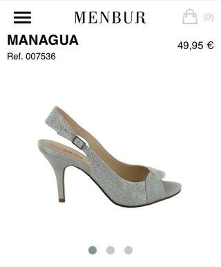 Zapatos NUEVOS MENBUR (platas)