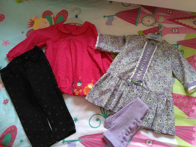 c4397a4e7 Lote ropa niña 12-18 meses de segunda mano por 18 € en Saron en WALLAPOP