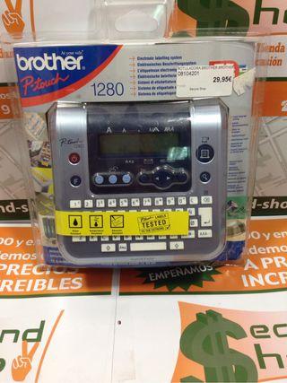 Etiquetadora Brother 1280 P-Touch