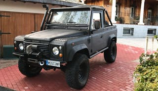 land rover defender 90 td5 pick up cabrio
