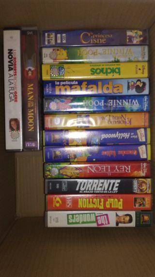 PELICULAS VHS ORIGINALES