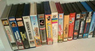 lote n.3 Películas VHS