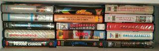 LOTE N. 6 cintas VHS