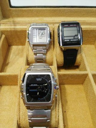 Lote de relojes Casio