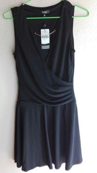 vestidos a estrenar,negros talla xs,s y 36
