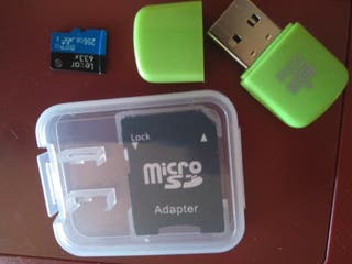 Tarjeta microsd de 256G
