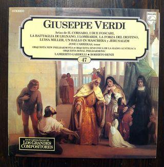 LP GIUSEPPE VERDI N° 47.