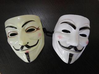 Dos mascaras Anonymous