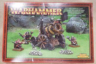 Warhammer Cañón Infiernal del Caos METAL