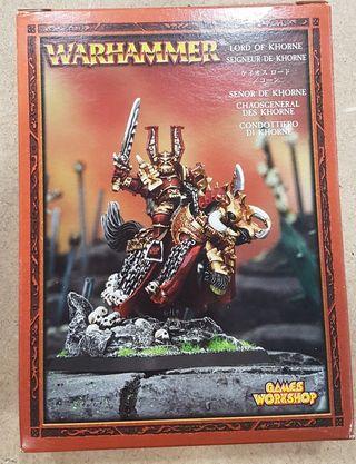 Warhammer Señor De Khorne a caballo METAL