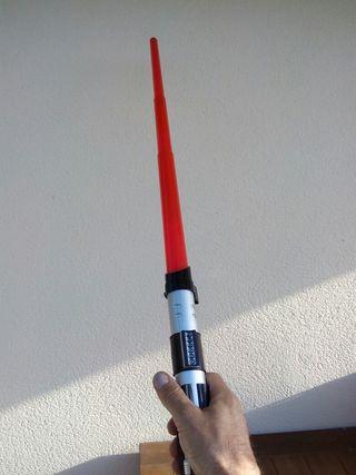 Espada laser.