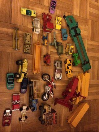 Lote de coches antiguos