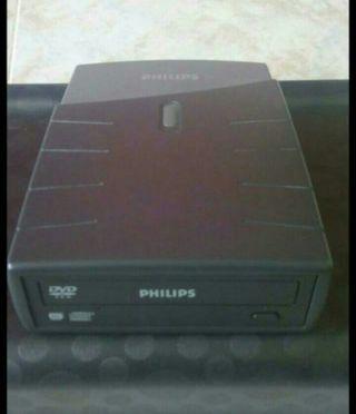 PHILIPS Grabadora externa CD/DVD