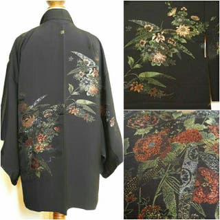 Chaqueta Kimono seda 100% japonesa A ESTRENAR!
