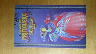 Pegatina Cartel Fiestas de Primavera 1988