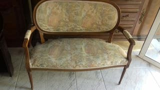 sofa antiguo 2 plazas
