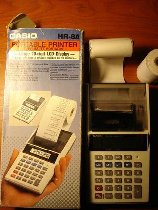 calculadora casio HR-8A