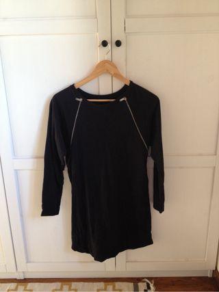 Vestido Zara basic