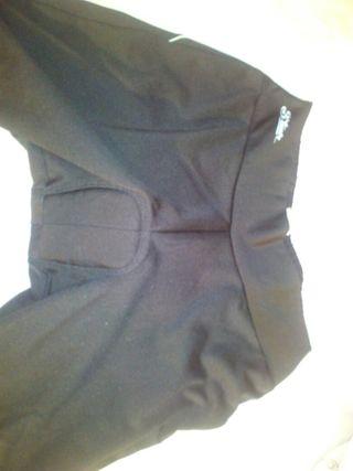 culotte de invierno y maillot manga larga decathlo