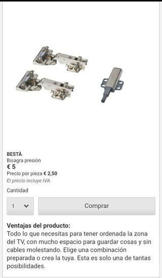 Bisagras IKEA