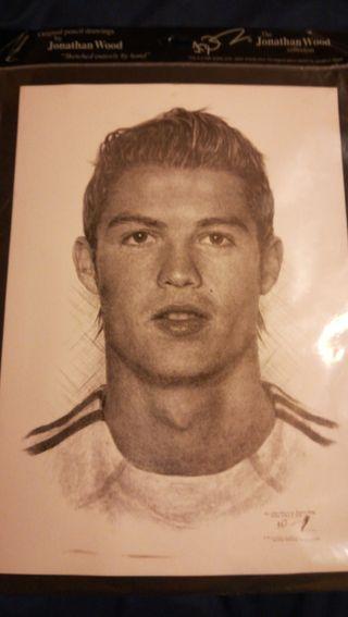 Retrato cr7 Cristiano Ronaldo
