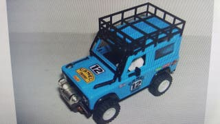 scalextric land rover sts
