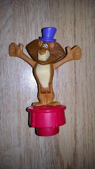 figura Madagascar Alex el león nueva